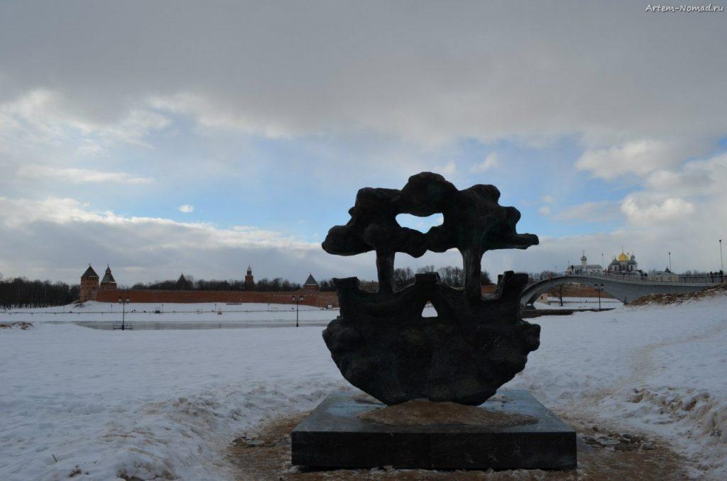 Ганзейский знак. Он же «Памятник Печени»