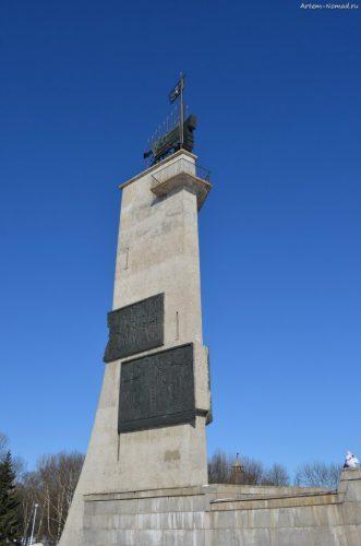 Монумент Победы на Екатерининской горке