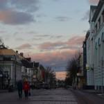 Трёхсвятская пешеходная улица - местный Арбат
